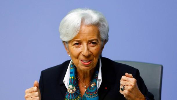 Notenbank unter Charme-Attacke