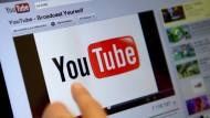 Startseite des Videoportals: Youtube ist bald auch im Abo erhältlich.
