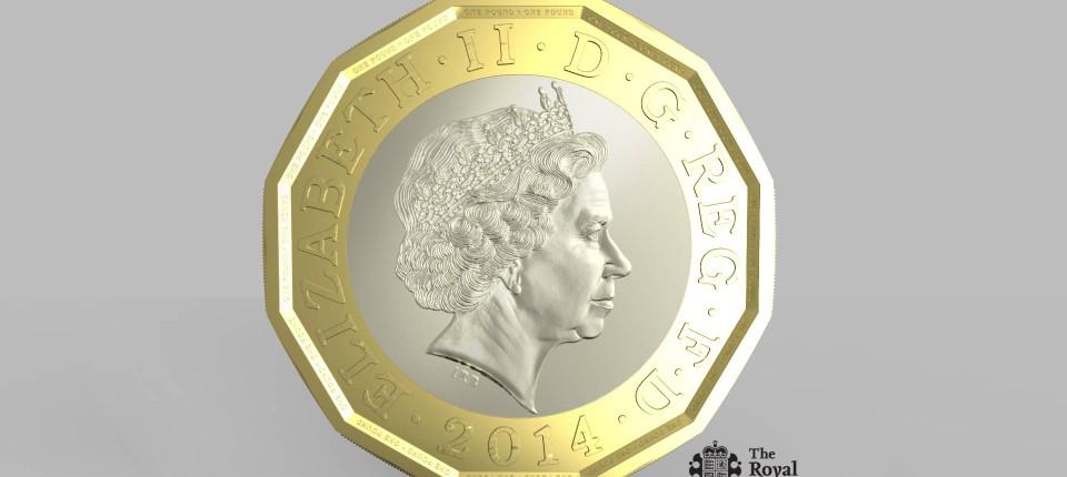 Großbritannien So Soll Die Neue 1 Pfund Münze Aussehen Wirtschaft