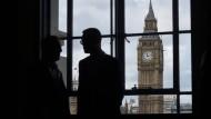 Big Ben: Die Zeit läuft bis zur Parlamentswahl in Großbritannien - und dann auch bis zum Brexit.