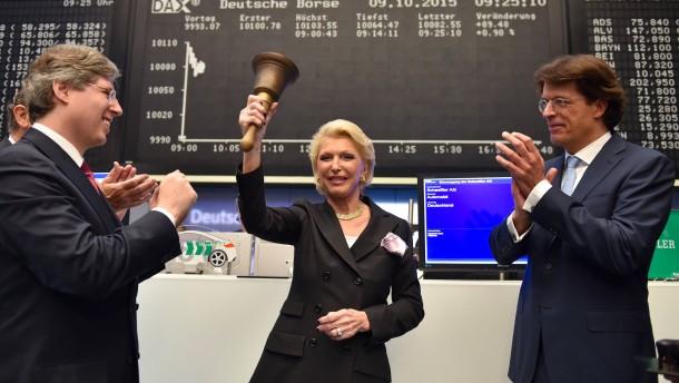 Schaeffler schafft erfolgreiches Börsendebüt
