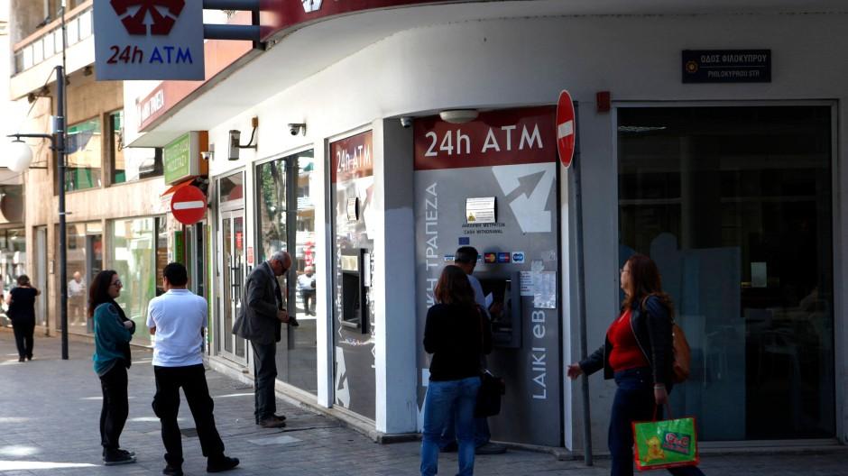 Laiki-Filiale in Nikosia
