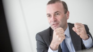 CSU-Politiker Weber warnt EU-Kommission
