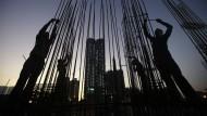 Der Infrastrukturausbau wächst Asien über den Kopf