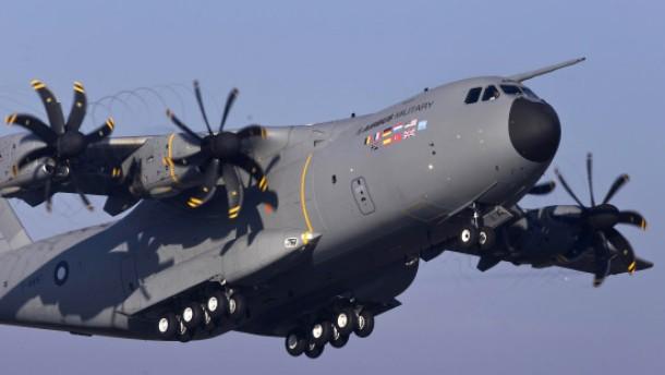 Airbus droht mit Einstellung des Militärfliegers