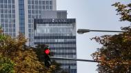 Der Turm der BHF-Bank in Frankfurt