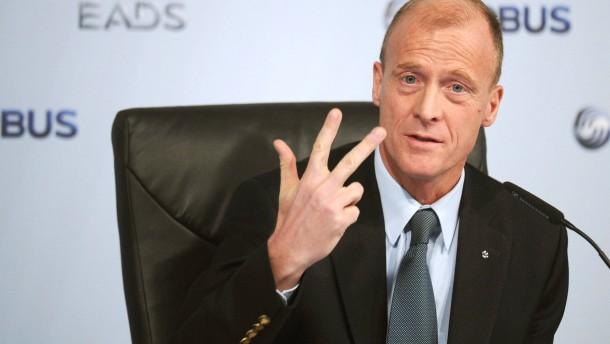 Deutscher Top-Manager Enders wird EADS-Chef