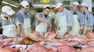 Eigentlich ein Traditionsberuf: Fleischer wollen nur noch wenige junge Menschen werden.