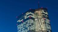Hier wird entschieden: die Europäische Zentralbank in Frankfurt