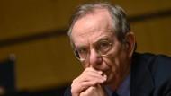Italiens Finanzminister: EZB wird Anleihekäufe beenden