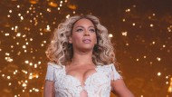 Beyonce während ihrer Mrs. Carter Show World Tour in Las Vegas.