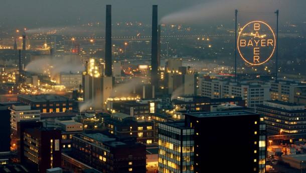 Chemiepark Leverkusen - Bayer Werk
