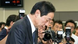 Japanischer Bankchef  muss 6 Monate auf Gehalt verzichten