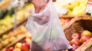 Der Plastikverzicht endet beim Obstbeutel