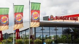 Burger King kündigt 300 zusätzliche Restaurants an