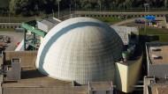 Kernkraftwerk Philippsburg südlich von Speyer