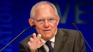 Schäuble warnt Briten vor Steuer-Dumping