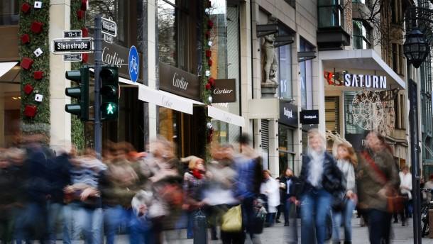 Die Mär vom Konsumrausch