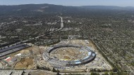 Der Apple Campus in Cupertino