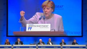 Merkel: Batterien müssen in Europa hergestellt werden