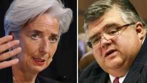 Nur Lagarde und Carstens dürfen kandidieren