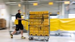 Der Paketboom beflügelt die Deutsche Post