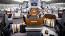 Business Class der Lufthansa: Kostengünstigere Upgrades gibt es fast nur noch bei Auktionen.