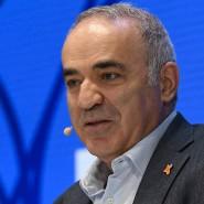 Garry Kasparow auf der DLD in München.