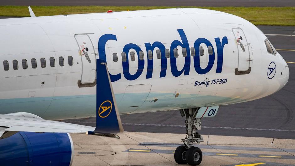 Condor-Flüge sind weiterhin gut gebucht. Ein Schutzschirm stützt die Fluggesellschaft derzeit.