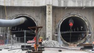 Rastatt-Havarie verursachte 2 Milliarden Euro Schaden
