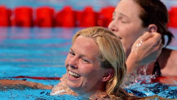 Britta Steffen auf Platz sechs über 100-Meter-Freistil