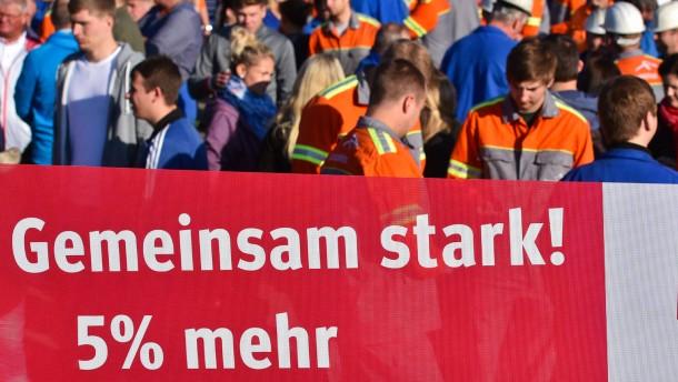 Löhne rauf, fordert auch die EZB