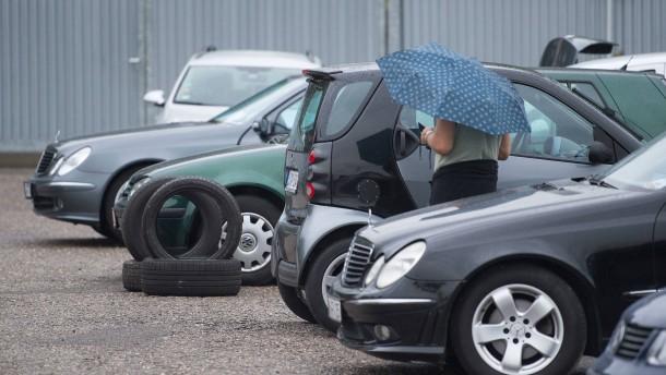 11 Prozent Minus bei alten Dieselautos