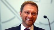 Will wieder in den Bundestag: Die FDP und ihr Vorsitzender Christian Lindner.