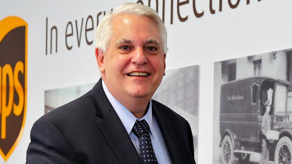 Frank Sportolari ist Präsident von UPS Deutschland.