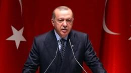 """Erdogan an Notenbank: """"Meine Geduld hat Grenzen"""""""