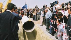 Grundstein zu strategischer Pipeline gelegt