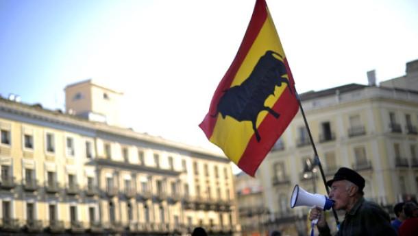 Strauchelndes Spanien