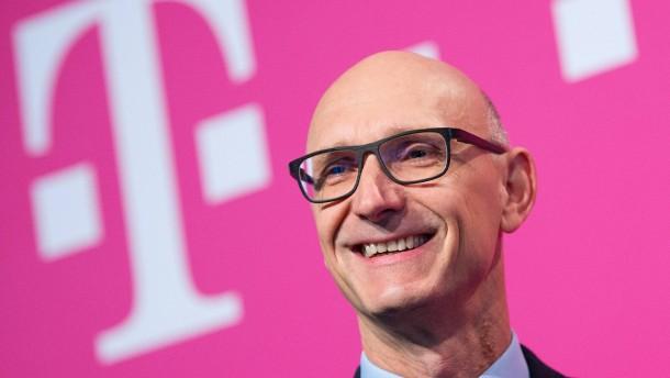 Telekom mit starkem Gewinnsprung