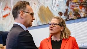 Maas und Schulze wollen schärferes EU-Klimaziel
