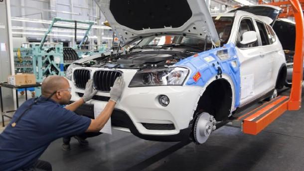 Deutsche Autobauer legen in Amerika zu