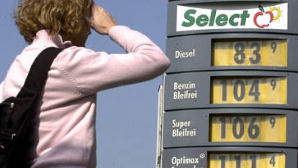 Benzinpreis steigt auf Jahreshoch