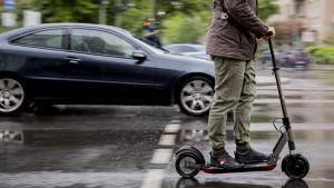 Freie Fahrt für E-Scooter in Frankfurt