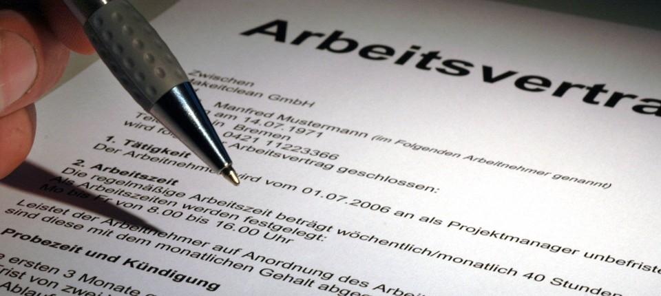 Moderne Arbeitsverträge Und Das Soll Ich Unterschreiben Recht