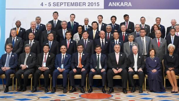 Top-Wirtschaftsmächte nicht alarmiert wegen China