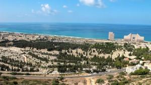 Der Strand von Haifa