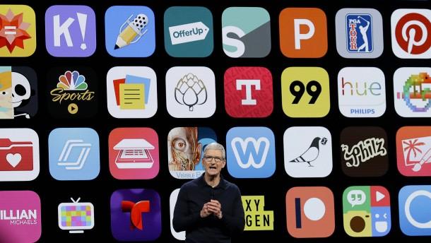 Apple halbiert seine Kommission für den Großteil der App-Entwickler
