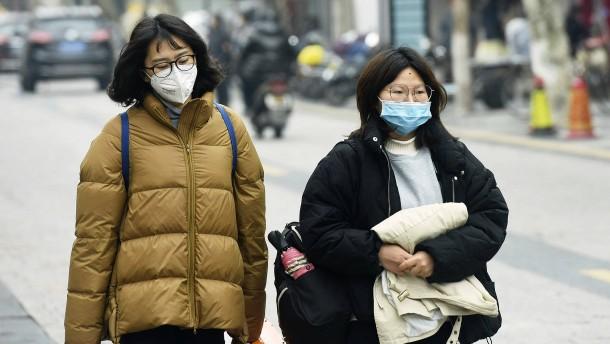 Corona-Virus besorgt Chinas Wirtschaft
