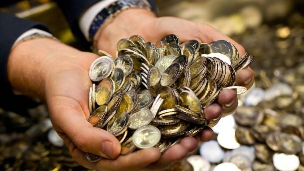 Die Geldmenge in Europa steigt um zehn Prozent