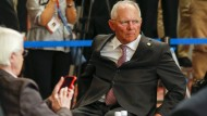 Im Kreis der Mächtigen: Wolfgang Schäuble auf dem G7-Treffen in Japan.